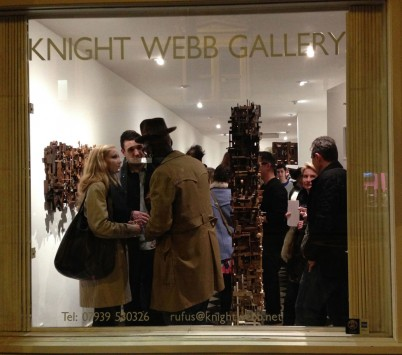 At The Knight Webb gallery