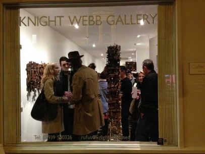 Solo show at the Knight Webb gallery