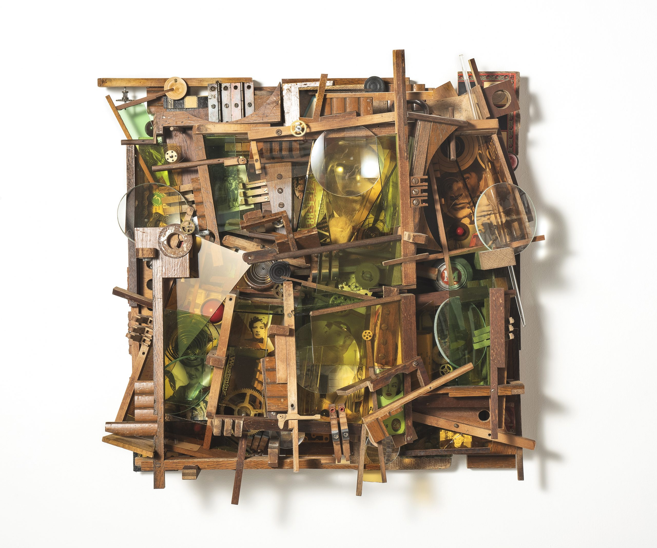 A box construction by Lesley Hilling