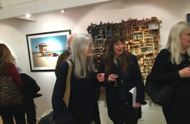 Lesley Hilling at the London Group open
