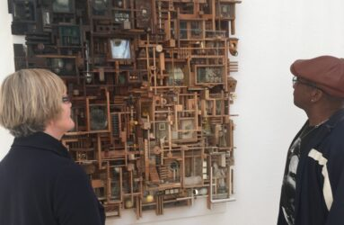 Lesley Hilling at The Royal West of England Academy Sculpture Open