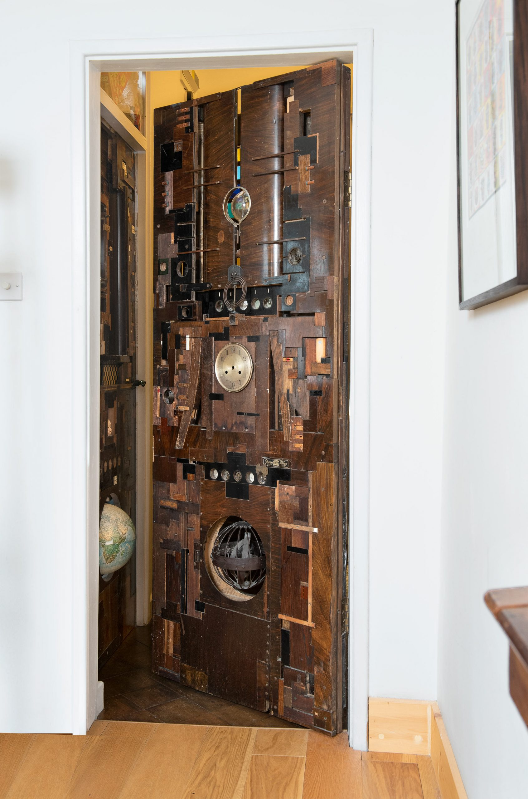 A Lesley Hilling door - Everyday objects in contemporary art