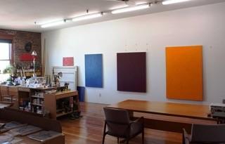 Ander's Brooklyn studio