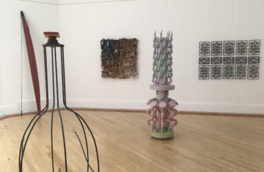 Lesley Hilling at the Royal West of England Sculpture open